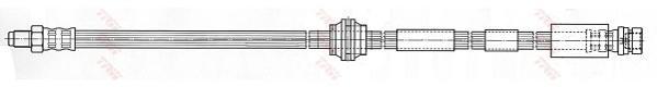 PHB434 Шланг тормозной FORD MONDEO 00-07/JAGUAR X-TYPE 01- передний лев./прав.