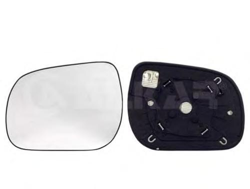 6431999 Стекло зеркала TOYOTA RAV III 05- левое с обогревом