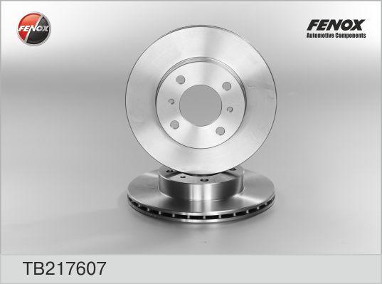 TB217607 Диск тормозной MITSUBISHI CARISMA 1.6/1.9 95-06/COLT 92-05/LANCER 92-03 передний