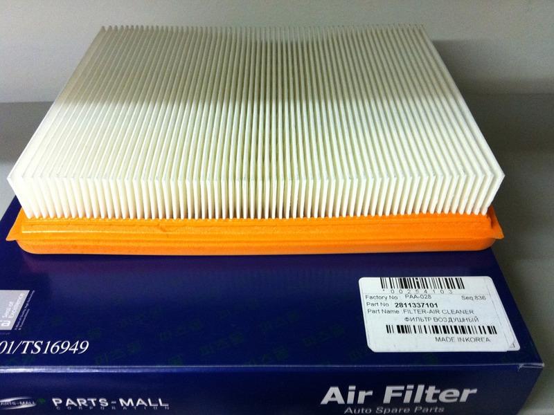 PAA028 Фильтр воздушный HYUNDAI SONATA EF 04- (ТАГАЗ)/KIA MAGENTIS