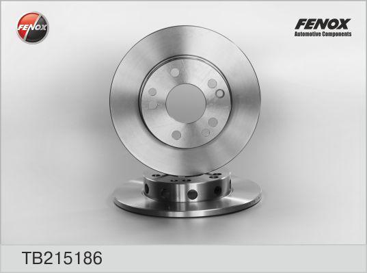TB215186 Диск тормозной MERCEDES W201 1.8/2.0/2.5 82-93 передний D=262мм.