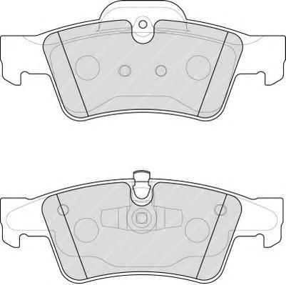 FDB1831 Колодки тормозные MERCEDES-BENZ W164 ML 05/W251 R-CLASS 06 задние