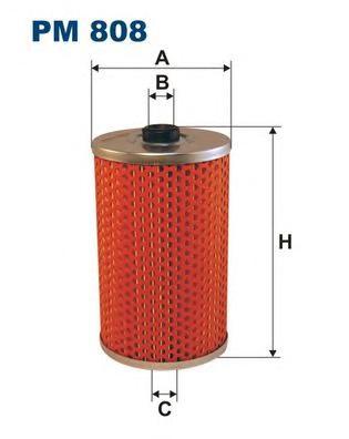 PM808 Фильтр топливный MAN/SETRA/VOLVO
