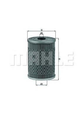 OX32D Фильтр масляный MB W123/W126 M103/M116/M117