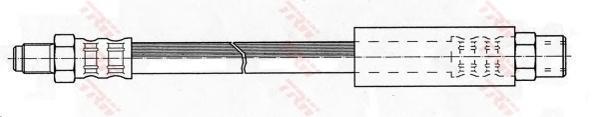 phb256 Тормозной шланг