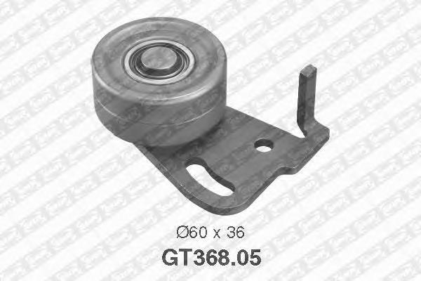 GT36805 Ролик натяжной ремня ГРМ Nissan Bluebird 2.0D LD20 <92