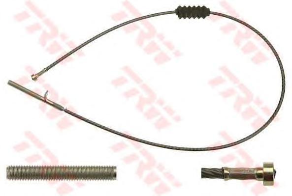 gch1512 Трос, стояночная тормозная система