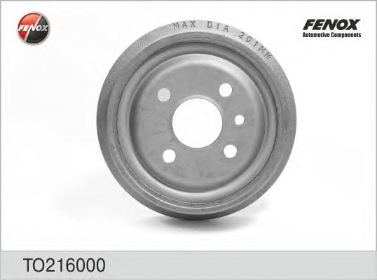 TO216000 Барабан тормозной DAEWOO NEXIA/LANOS/ESPERO/OPEL ASTRA F/KADET E