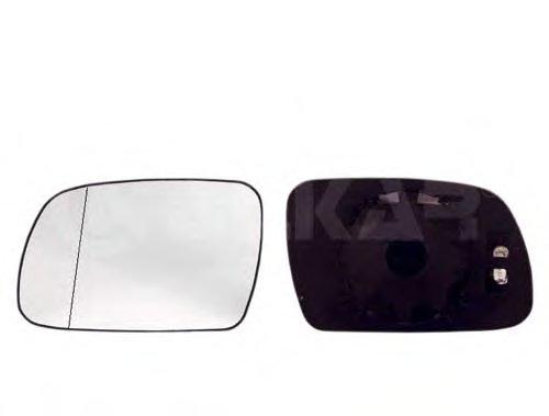 PMG2917G04 Стекло зеркала прав с подогр, выпукл PEUGEOT: 307 - 01-