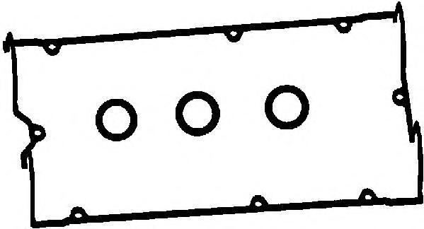 56021800 Прокладка клапанной крышки MITSUBISHI GALANT 2.0 92-96 к-кт