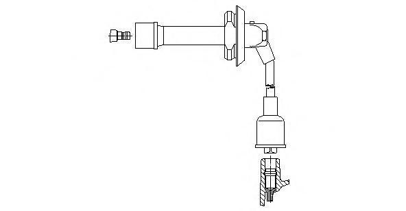 3a4357 Провод зажигания