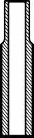 VAG96114 Направляющая клапана DAEWOO MATIZ/SPARK