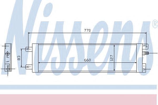 94558 Конденсер CHRYSLER VOYAGER 2.5-3.3 96-