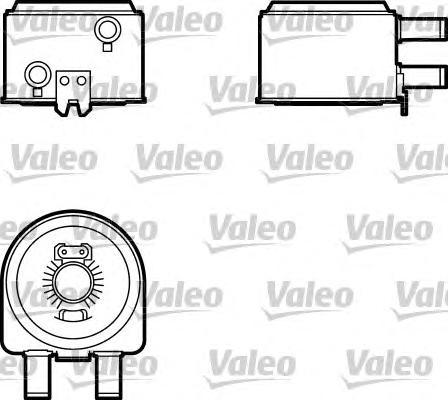 817704 Радиатор масляный CITROEN JUMPER/PEUGEOT BOXER 02-