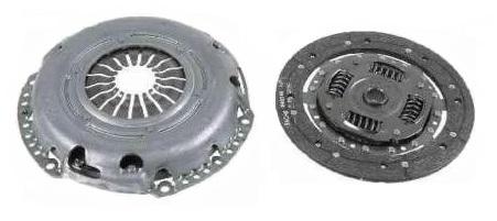 1732732 К-т сцепления-без выж.подшипника / FORD Fiesta,Fusion 1,6 Zetec-S 01~