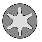 143207701 Комплект болтов ГБЦ Peugeot 405 1.8TD 88-92, 1.9D 88-, 605 2.0 89-94, 95-, 405 2.0 92-