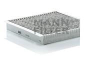 CUK2641 Фильтр салона AUDI A6/A8 10- угольный
