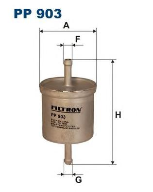 PP903 Фильтр топливный NISSAN PRIMERA/ALMERA/MAXIMA/MICRA