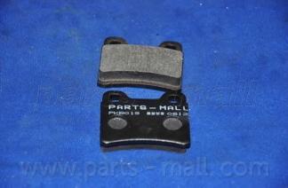 PKB019 Колодки тормозные FORD ESCORT/ORION 90-00/KIA SEPHIA 93-/SHUMA 96-01 задние