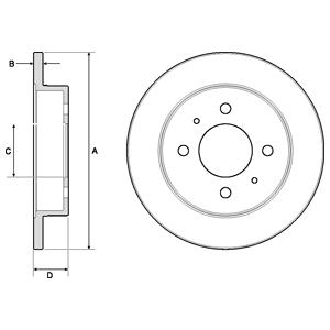 BG3112 Тормозной диск 2шт в упаковке