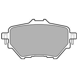 LP2505 Колодки тормозные