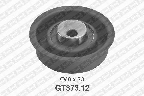 GT37312 Деталь GT373.12_pолик натяжной pемня ГPМ