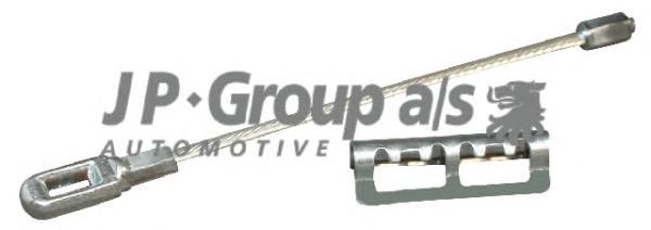 1270300500 Трос ручного тормоза задний / OPEL Vectra-B (128mm)