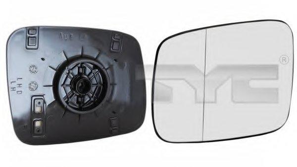 PMG4050G02 Стекло зеркала лев асферич,, ручн VW: TRANSPORTER T4 - 90-03