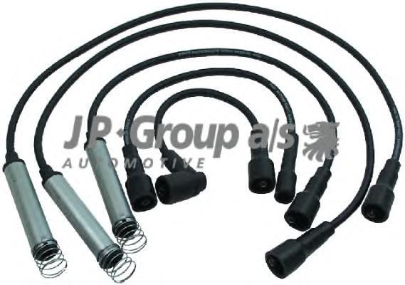 1292001010 Провода высоковольтные, комплект / OPEL Kadett-E,Vectra-A,Calibra 1.8/2.0NZ,NVR,SV,NE