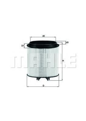 LX2974 Фильтр воздушный PORSCHE 911/PANAMERA 3.4-4.8 08-