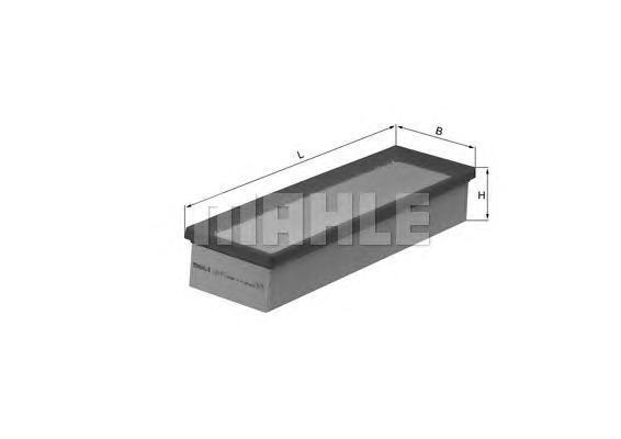 LX1451 Фильтр воздушный CITROEN C3 1.6
