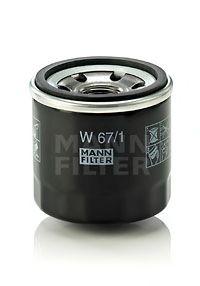 W671 Фильтр масляный FORD/KIA/NISSAN