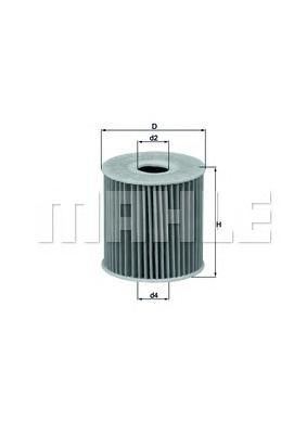 OX192D Фильтр масляный NISSAN ALMERA/X-TRAIL 2.2 DI 00-
