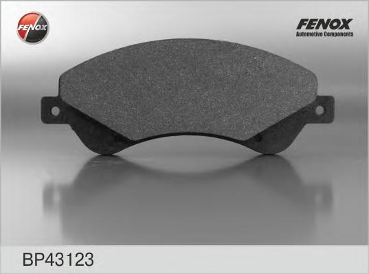 BP43123 Колодки тормозные FORD TRANSIT 06- 280/300-Series передние с датчиком