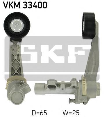 VKM33400 Натяжитель прив.ремня PSA 08-, Mini