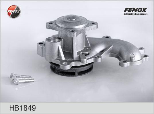 HB1849 Насос водяной FORD FOCUS II/TRANSIT 1.8D