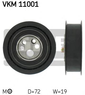VKM11001 Ролик ремня ГРМ AUDI 80/100/A6/VW PASSAT
