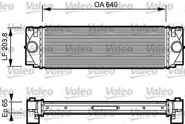 817994 Интеркулер MB SPRINTER 2.2D 06-