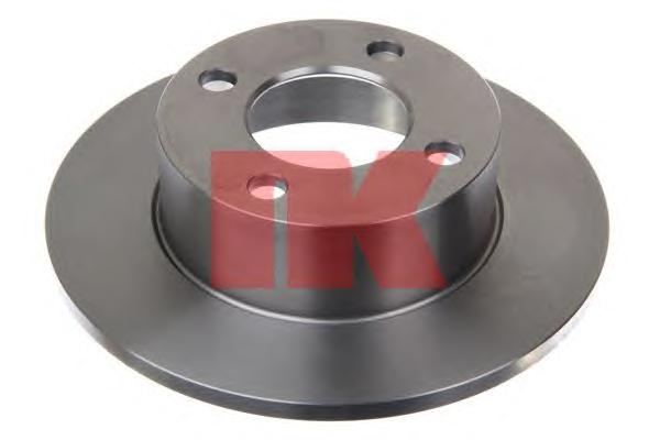 204723 Диск тормозной задний / AUDI 80,90,100 ( 10-245 ) 82 - 96