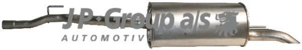 1120607200 Глушитель задняя часть / VW Transporter T-4 1.9TD/2.4D 01/96~