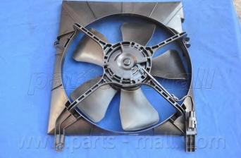 PXNAC002 Вентилятор радиатора CHEVROLET AVEO 1.4 DOHC