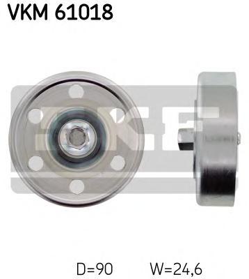 VKM61018 Ролик ремня приводного TOYOTA AVENSIS/COROLLA/RAV 4 2.0D 01-