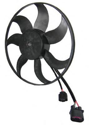 A2C59511337 Вентилятор радиатора VW: CADDY III универсал 1.6/1.9 TDI 04-, CADDY III фургон 1.4/1.4 16V/1.6/1.9 TDI/2.0 EcoFuel/2