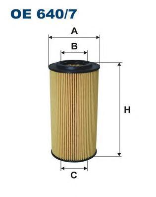 OE6407 Фильтр масляный MB W210/211/220 3.2D