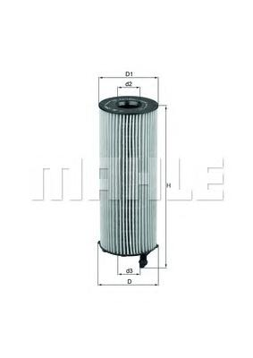 OX1961D1 Фильтр масляный RANGE ROVER 3.6D 06-