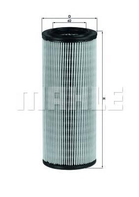 LX801 Фильтр воздушный SAAB 9000 2.0/2.3/3.0 84-98