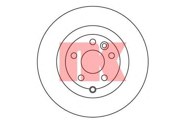 204033 Диск тормозной LAND ROVER FREELANDER 3.2 06- задний вент.D=302мм.