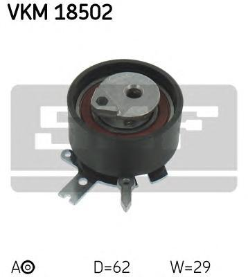 VKM18502 Ролик ремня ГРМ CHRYSLER GRAND VOYAGER III 2.8CRD 07, JEEP CHEROKEE 2.8CRD 07