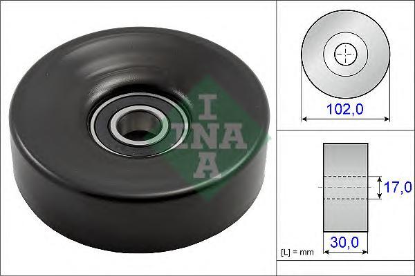 531083110 Ролик ремня приводного LEXUS GS/LS/TOYOTA LC100/200 4.7