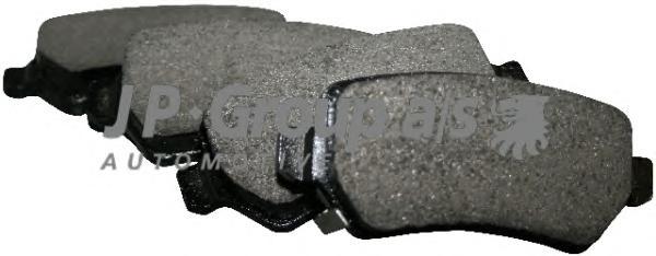1263700110 Колодки тормозные дисковые задние / OPEL Astra-G/H,Zafira-A/B,Corsa-C,Meriva